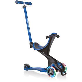 Globber Go-Up Comfort Lights Scooter with LED Wheels Kids, niebieski/czarny